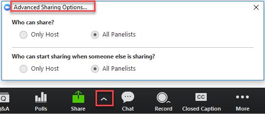 Webinar Panelist Role – CCCTechConnect